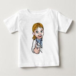 Camiseta Para Bebê Sinal do personagem de desenho animado do doutor