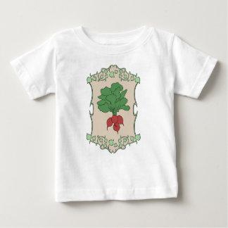 Camiseta Para Bebê Sinal do rabanete
