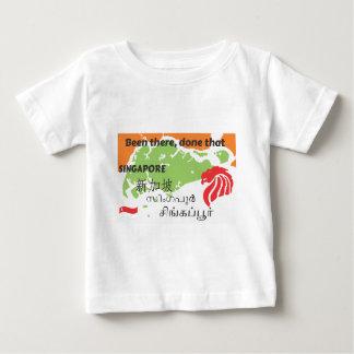 Camiseta Para Bebê Singapore