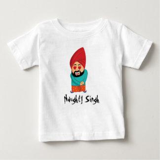 Camiseta Para Bebê Singh impertinente