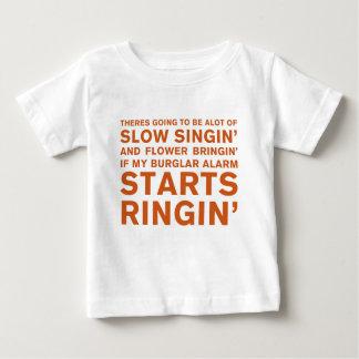 Camiseta Para Bebê Singin lento