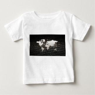 Camiseta Para Bebê Sistema de serviços global da assinatura como uma