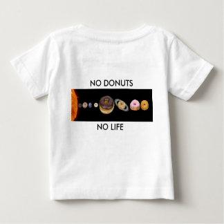 Camiseta Para Bebê Sistema solar das rosquinhas