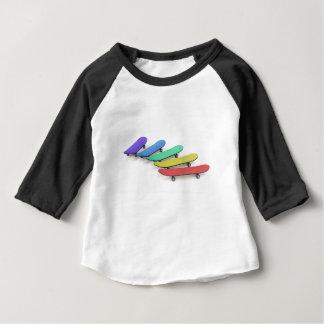 Camiseta Para Bebê Skates