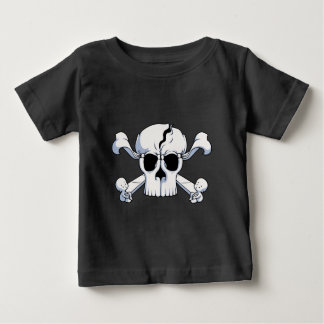 Camiseta Para Bebê Skullusion