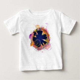 Camiseta Para Bebê Skyline da cidade de Londres