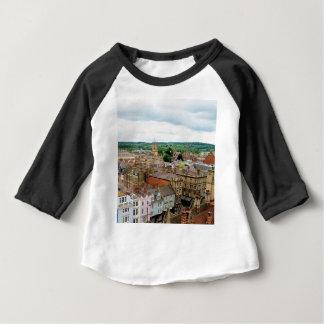 Camiseta Para Bebê Skyline da cidade de Oxford