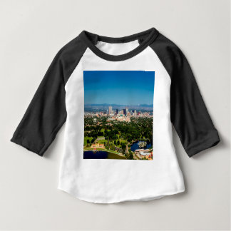 Camiseta Para Bebê Skyline de Denver
