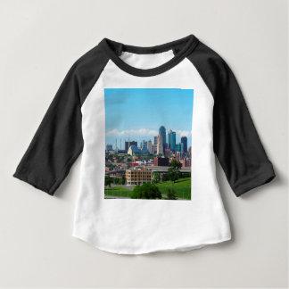 Camiseta Para Bebê Skyline de Kansas City