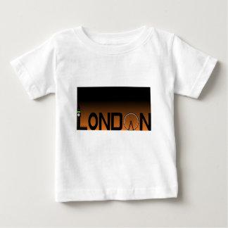 Camiseta Para Bebê Skyline de Londres