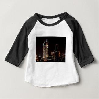 Camiseta Para Bebê Skyline de Mumbai India