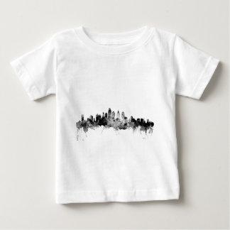 Camiseta Para Bebê Skyline de Philadelphfia Pensilvânia