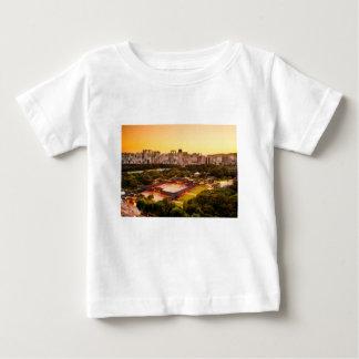 Camiseta Para Bebê Skyline de Seoul Coreia do Sul