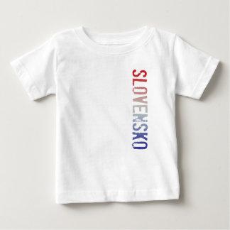 Camiseta Para Bebê Slovensko (Slovakia)