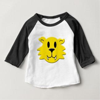 Camiseta Para Bebê Smiley do homem-lobo