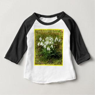 Camiseta Para Bebê Snowdrops 02,2 (Schneegloeckchen)