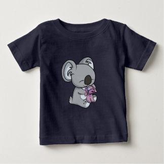 Camiseta Para Bebê Snuggles doces! Koala
