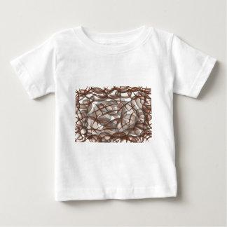 Camiseta Para Bebê Sob o mar