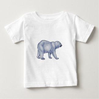 Camiseta Para Bebê Sobrevivente ártico