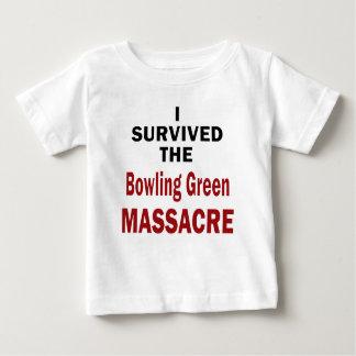 Camiseta Para Bebê Sobrevivente do massacre de Bowling Green