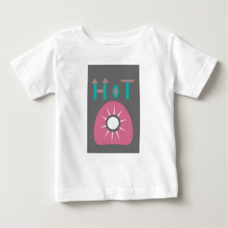 Camiseta Para Bebê sol quente