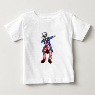 Camiseta Para Bebê Solha do tio Sam