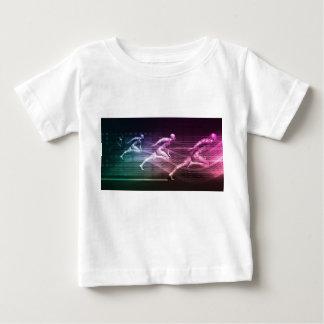 Camiseta Para Bebê Soluções e velocidade integradas do elevado