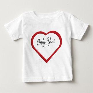 Camiseta Para Bebê Somente você