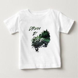 Camiseta Para Bebê Sonho
