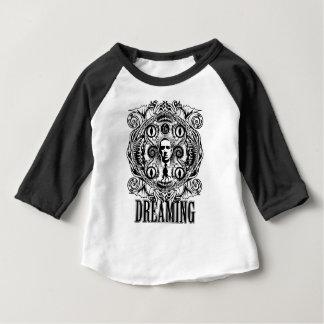 Camiseta Para Bebê Sonhos de Lovecraftian
