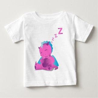 Camiseta Para Bebê Sono Spiffy o dragão