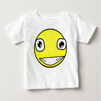 Camiseta Para Bebê Sorriso louco grande