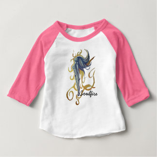 Camiseta Para Bebê Soulfire
