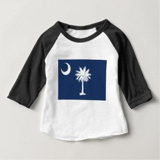 Camiseta Para Bebê South Carolina