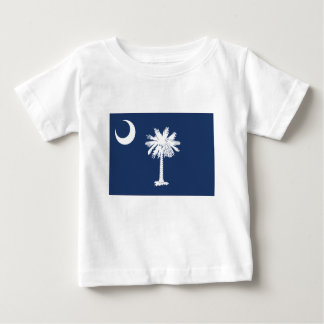 Camiseta Para Bebê South Carolina