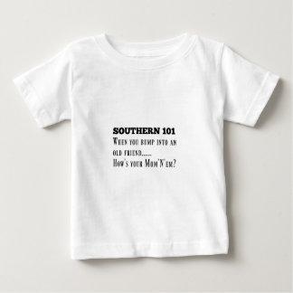 Camiseta Para Bebê Southern101-1