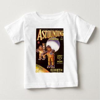 Camiseta Para Bebê Spacesuits robustos grandes