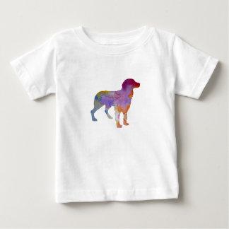 Camiseta Para Bebê Spaniel de Brittany
