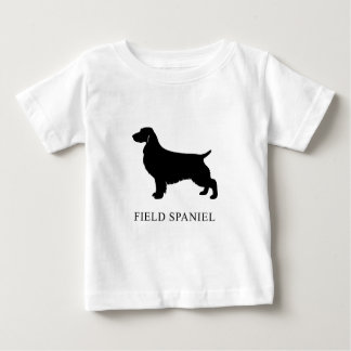 Camiseta Para Bebê Spaniel de campo