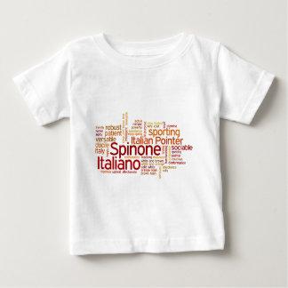 Camiseta Para Bebê Spinone Italiano