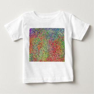 Camiseta Para Bebê Splatter da cor