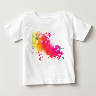 Camiseta Para Bebê splatters