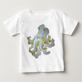Camiseta Para Bebê Squidy