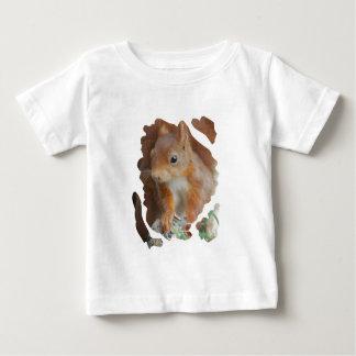 Camiseta Para Bebê SQUIRREL ESQUILO ÉCUREUIL Photography Glineur