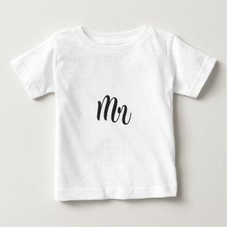 Camiseta Para Bebê Sr.