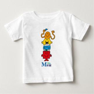 Camiseta Para Bebê Sr. Homem Standing Alto do Sr. Homem  