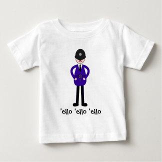 Camiseta Para Bebê Sr. Plod Polícia