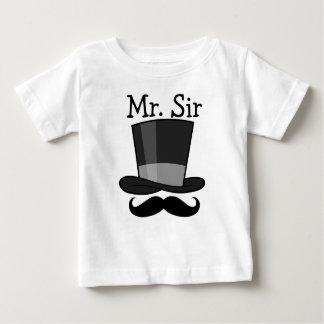Camiseta Para Bebê Sr. senhor