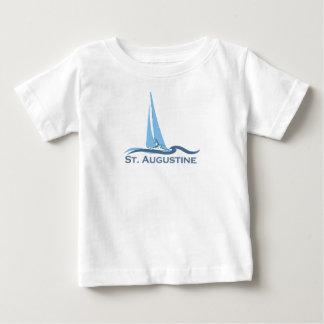 Camiseta Para Bebê St Augustine.