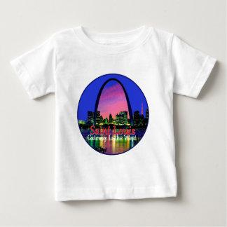 Camiseta Para Bebê St Louis Missouri